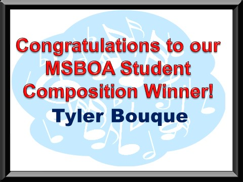 Student Composition Winner!