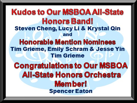 All-State Honors Band!